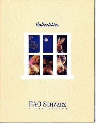 FAO Schwarz Collectibles Catalog c1995