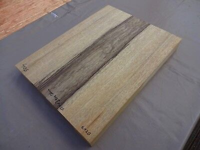 Korina / Limba two piece Guitar body planed and kiln dried Tonewood  D207