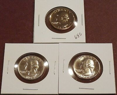 1968 P, D, S - WASHINGTON Quarters * Uncirculated and Proof