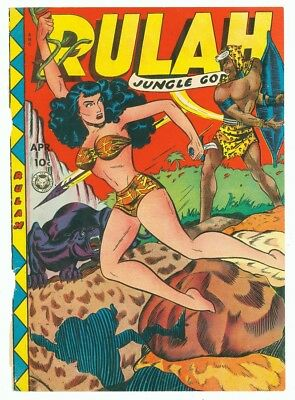 Rulah Jungle Goddess #25 April 1949 Front Cover Only