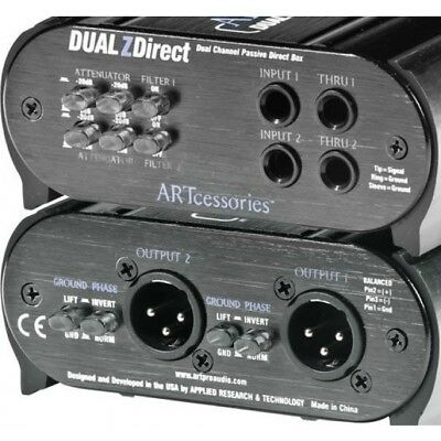 Art - Dual Z Direct - Di Box, Daul Passive