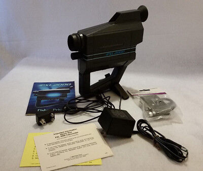 VINTAGE 1987 PXL 2000 Camcorder/ Accessories Fisher Price -See Condition!