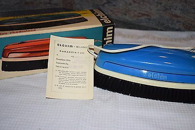 Vintage Spazzola Aspirapolvere Vacuum Cleaner in box 1963 Made in Italy  (817M)