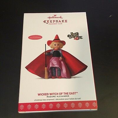 Wicked Witch of the East - The Wizard of Oz - 2017 Hallmark Keepsake Ornament