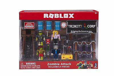 Roblox Zombie Attack 21 Piece Playset New Just Released