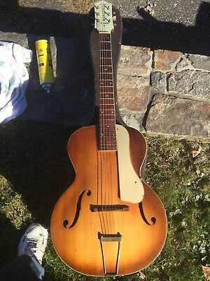 1930's ORPHEUM DELUXE ARCHTOP GUITAR. STUNNING WALL ART. A 3 CHORD DREAM, OR FIX