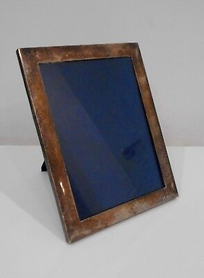 Large Antique English Sterling Silver Photograph Frame 1908 London 24.5 Cm