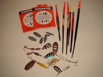 Vintage Fishing Tackle - Floats, Lures, Weights