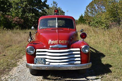 1951 Chevrolet Other Pickups  1951 Chevy 3600 Fire Chief Truck