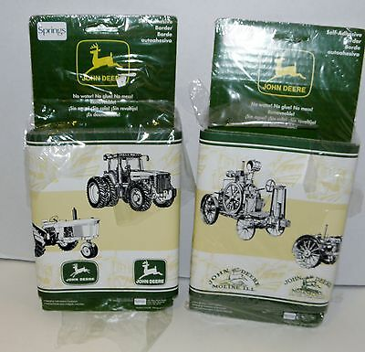 John Deere Wallpaper Boarder 62733   Lot 3   Self- Adhesive   2 rolls