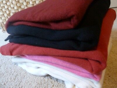 Lot Of 6 Ballantyne Sweaters Made In Scotland  Sz. S 100% Cashmere