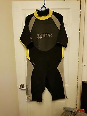 MARES TROPIC SHORTY WETSUIT - 2.5mm Size 7 XXL