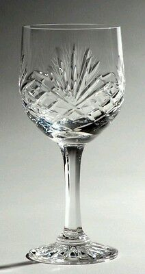 Set of 6 Crystal Red Wine Glasses  - Majestic - FREE POSTAGE - BRAND NEW