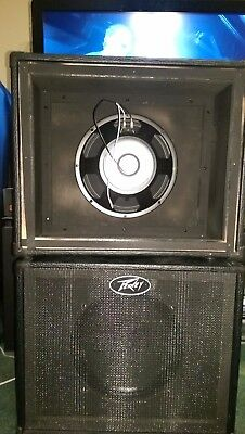 Peavey 112 1x12 Extension-Guitar-Cabinet (NO RESERVE)
