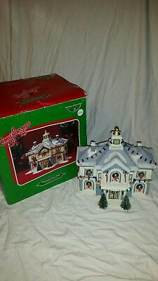Department 56 Christmas Story Hammond Town Hall Building Accessory In Box
