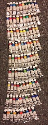 "Schmincke Horadam Aquarell Watercolor Lot Of ""90"" Tubes 15ml *new*"