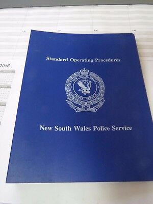 NSW Police Obsolete Standard Operating Procedures