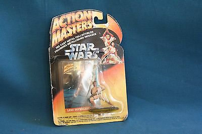star wars action masters 1994 luke skywalker die cast metal action figure