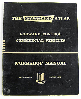 Standard  forward control commercial vehicle factory workshop manual group