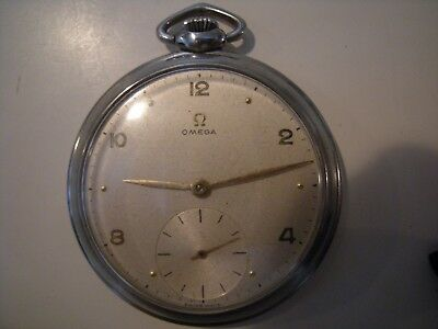 Pocket Watch Omega 17L Open Faced