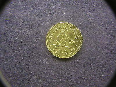 1909 1/4 Dwt Gold Alaska-Yukon-Pacific Expo Token: Hart's Coins Of The West