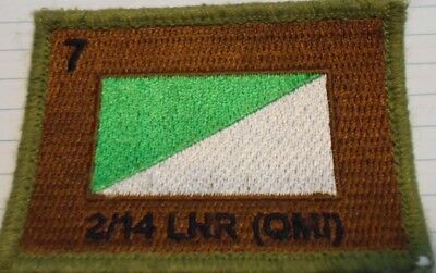 2/14 LHR (QMI), 7th Brigade -  Armoured Corps- Australia Army Unit Patch
