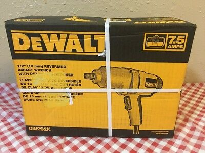 "DEWALT DW292K 1/2"" Impact Wrench Kit DW292 (NEW)"