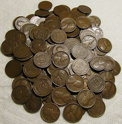2 Rolls Of 1925 S San Francisco Lincoln Wheat Cents From Penny Collection