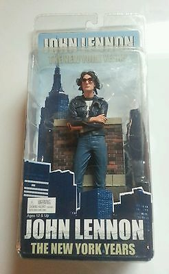 John Lennon the New York years figurine 2006 Bob Gruen NECA NIP
