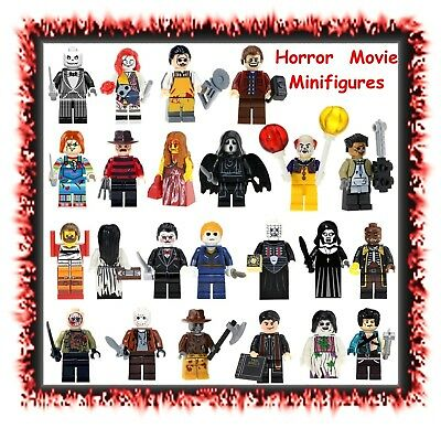 Horror movie character minifigures minifigs -CHOOSE STYLE- LEGO compatible block