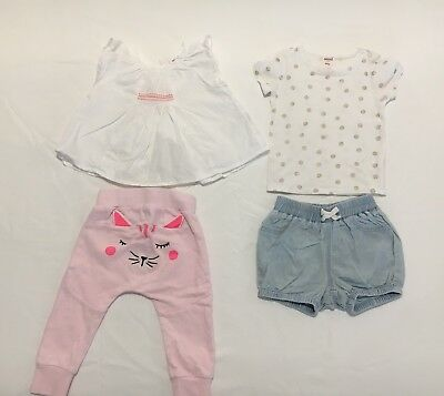 Seed Baby Girls Clothes Size 00-0 (6-12 Months)