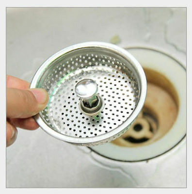 Stainless steel Bath sink cover Filter under pool Strainer Anti plug network S52