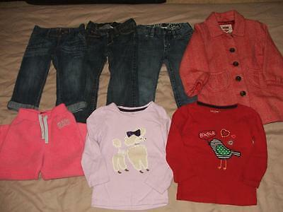 Huge Girls Gap Fall Back To School Clothing Lot Size 3T Euc