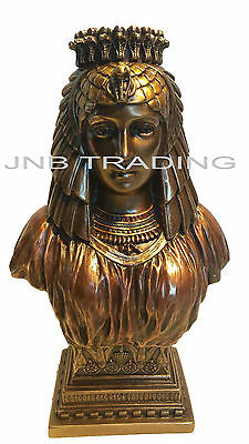 NEW Art Deco Style Egyptian Queen Bust Statue Figures Sculpture FAST SHIPPING