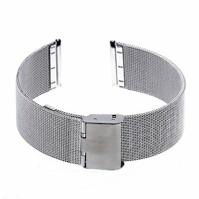 Strap Steel Silver color Bracelet Replacement for DIY 22mm watch X9B3 K6Y5