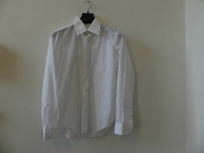 Original 1970's Man's Shirt - Archivial - White - No Ironing Shrt