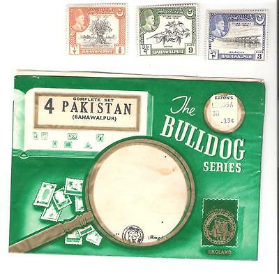 Large lot of old stamps from Pakistan including 3 MNH from 1949