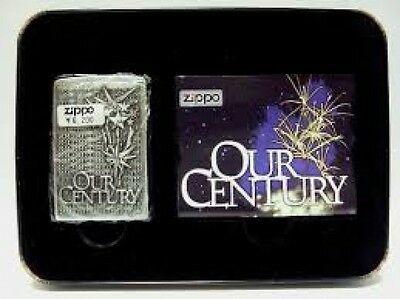 "Zippo Lighter - ""Our Century"" 1999 Collectible - 1999OC"