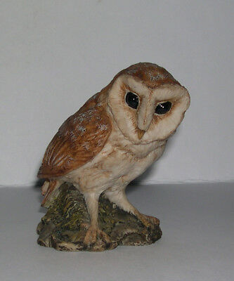 Very Early Country Artists Barn Owl Sculpted by Keith Sherwin RC&C from 1984