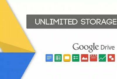 Google Drive Unlimited Storage - Lifetime, Safe, Brand new - Delivery in 24 hrs