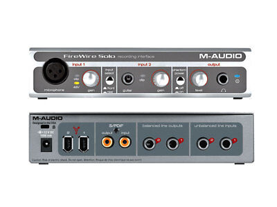 M-Audio Firewire Solo - Interfaccia Pc Per Registrazione Digitale