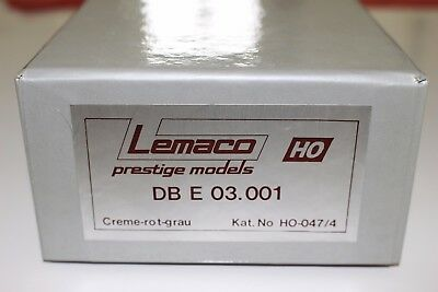 Lemaco HO-047/4 German DB E03 001 TEE Electric Locomotive TOP/OVP