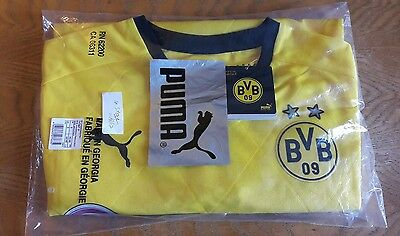 Borussia Dortmund RARE Ambassador Shirt 15-16 NEW with Tags MENS SMALL