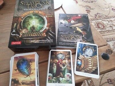 Steampunk Tarot Wisdom From The Gods Full Deck Excellent Condition
