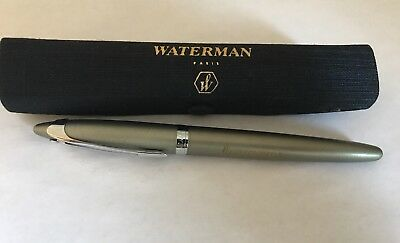 Waterman Fountain Pen with box and papers