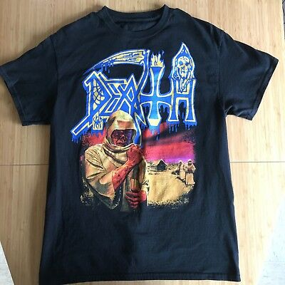 DEATH LEPROSY SHIRT M schuldiner obituary carcass metal deicide morning angel
