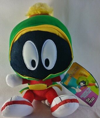 Peluche Plush Marvin the Martian Looney Tunes 30cm Pupazzo Big Headz Warner Bros