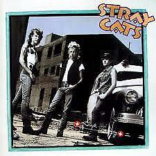LP : The Stray Cats - Rock Therapy (1986 original)