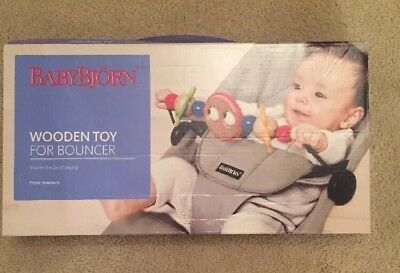 BabyBjorn Wooden Toy For Bouncer