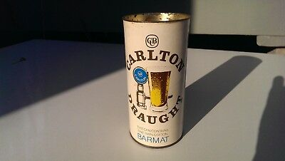 Carton Draught Barmat (Blue) in Carlton Draught Can (cardboard)